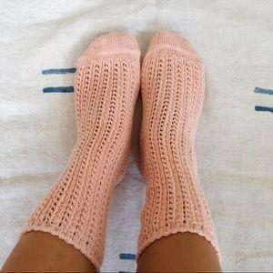 Free People Crochet Socks 💖